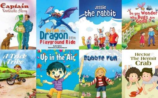 《50本Monkey Pen英文绘本》儿童英语阅读合集PDF 百度网盘下载