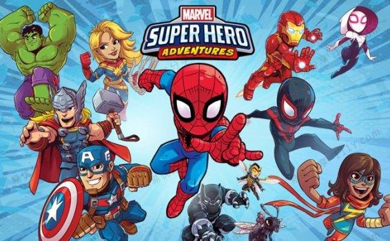 《Marvel Super Hero Adventures》全20集漫威超级英雄英文动画 百度网盘下载
