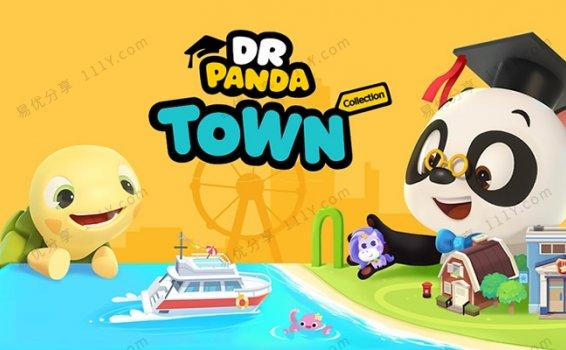 《Dr. Panda ToToTime熊猫博士和托托》英文版全50集MP4动画 百度网盘下载