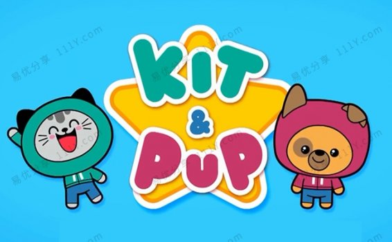《Kit and Pup吉吉猫和皮皮狗》英文版第一季26集视频 百度网盘下载