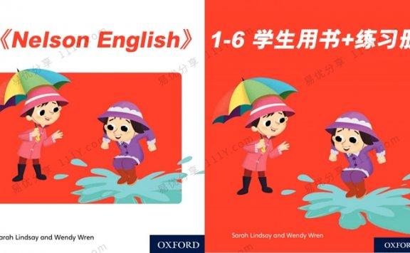 《Nelson English语法写作》1-6级学生用书练习册PDF 百度网盘下载