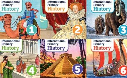 《International Primary History》牛津国际小学G1-G6历史教材 百度网盘下载