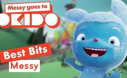 《Messy Goes to OKIDO》全2季52集梅西去乐趣岛MP4动画视频 百度网盘下载