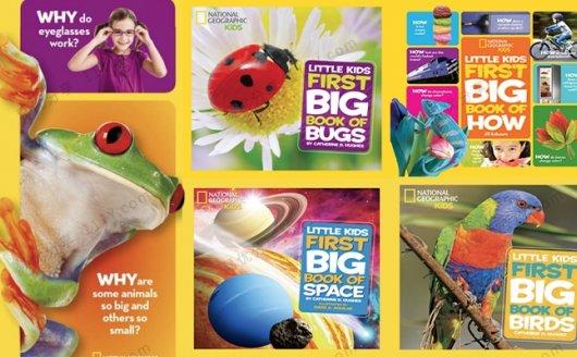 《Little Kids First Big Book》儿童百科英文杂志读物11册 百度网盘下载