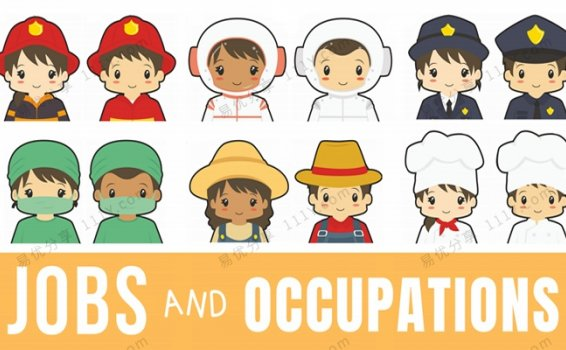 《Jobs and Occupations》职业认知启蒙英文闪卡PDF 百度网盘下载