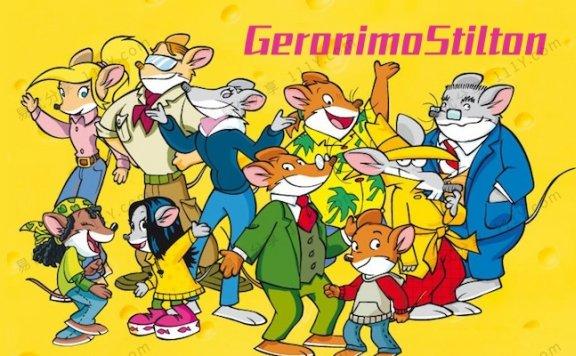 《Geronimo Stilton老鼠记者》全三季64集1080P英文动画视频 百度网盘下载