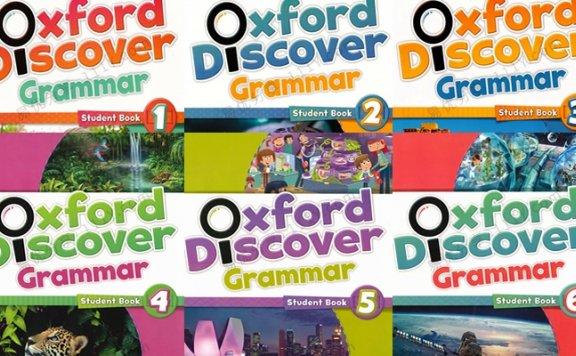 《Oxford Discover Grammar G1~G6》趣味语法教材PDF 百度网盘下载