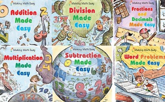 《Making Math Eas系列》数学思维六册英文桥梁书PDF 百度网盘下载