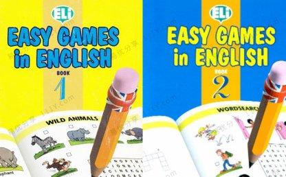 《Easy Games in English》英文读物英语游戏书PDF 百度网盘下载
