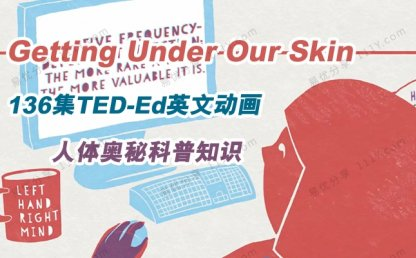 《Getting Under Our Skin》TED-Ed人体奥秘英文科普动画视频 百度网盘下载