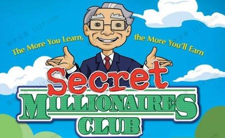 《Secret Millionaires Club》巴菲特神秘俱乐部PDF+MP4动画 百度网盘下载