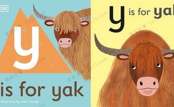 《动物字母认知全26册》DK英文启蒙绘本PDF 百度网盘下载