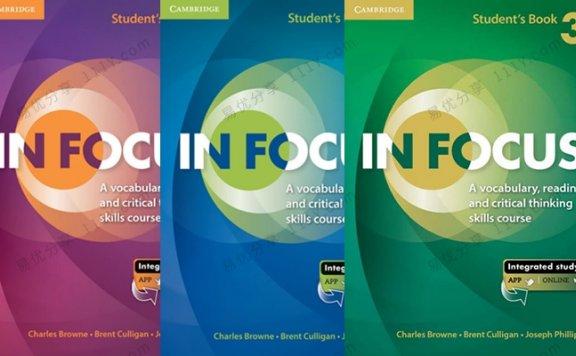 《IN FOCUS》英语学习工具书教师学生用户音频1-3级 百度网盘下载