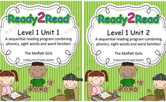 《Ready 2 Read Level 1》英语启蒙Unit1-8游戏书 百度网盘下载
