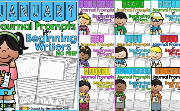 《journal prompts for beginning writers》英文写作练习册全12册 百度网盘下载