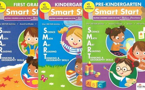 《Evan-Moor Smart Start》三册综合英文练习册prek-GK 百度网盘下载