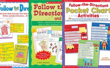 《Follow the Directions》学乐英文按指示完成练习三册PDF 百度网盘下载