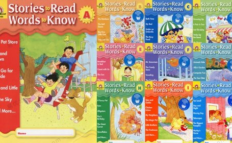 《Stories to Read, Words to Know》10册英文分级阅读练习PDF+MP3 百度网盘下载