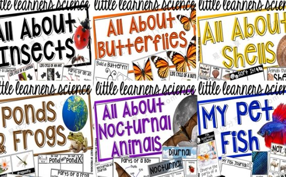 《Science for Little Learners》六册科学启蒙英文练习六册PDF 百度网盘下载