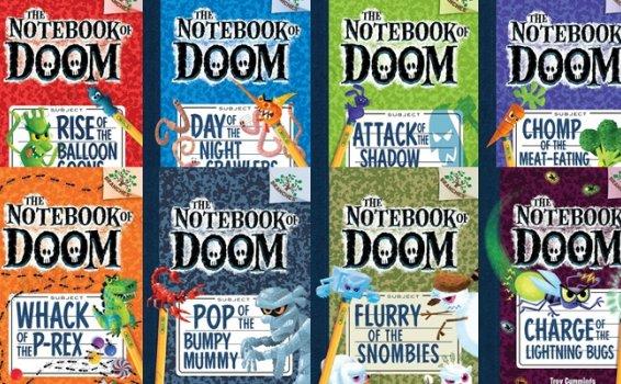《The Notebook of Doom》英文绘本故事8册PDF 百度网盘下载