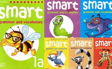 《Smart Grammar and Vocabulary》G1-G6语法教材PDF+MP3音频 百度网盘下载