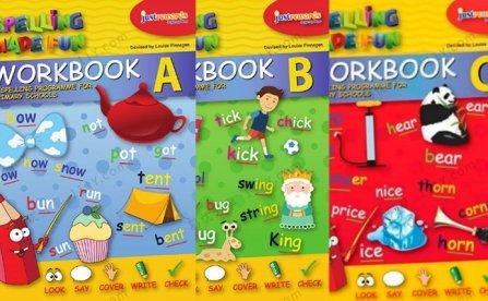 Spelling Made Fun英语拼写三册英文练习册PDF 百度网盘下载