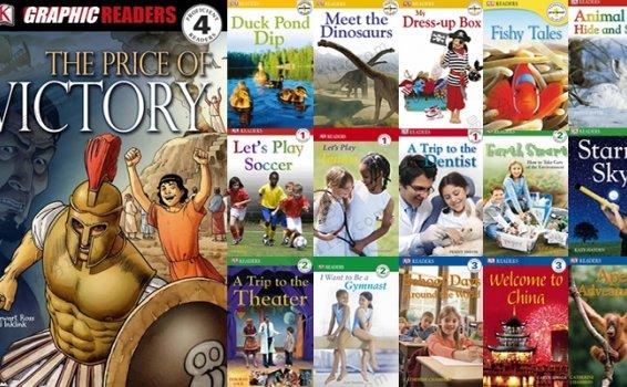 《DK英文分级阅读绘本》36册英语阅读理解主题读本PDF 百度云网盘下载