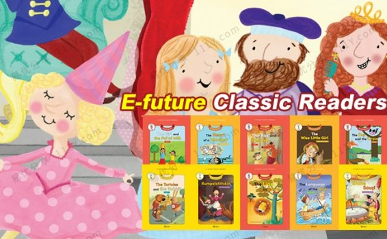 《E-future Classic Readers》分级童话故事动画60集附练习题 百度网盘下载