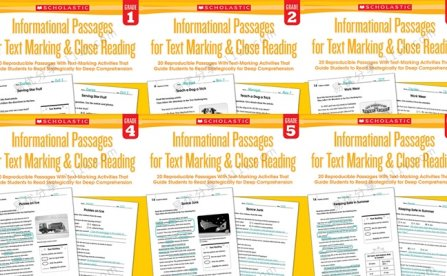 《Informational Passages》英文阅读1-6划重点练习册PDF 百度网盘下载