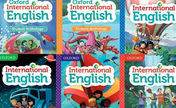 《Oxford International Primary English》1-6级阅读写作学生用书PDF 百度网盘下载
