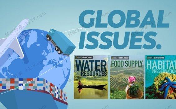 《Global issues国家地理》36册中学生阅读资料书PDF 百度网盘下载