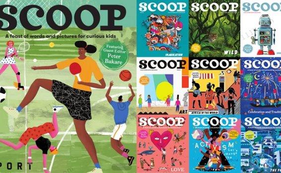 《SCOOP儿童英文杂志》虚构故事诗歌英语阅读TOP10 百度网盘下载