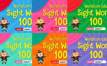 《Sight Words 100》120集Level 1-6级高频词教学视频 百度网盘下载