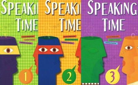 《Speaking Time 1-3》少儿演讲口语英文教材(附MP3音频) 百度网盘下载