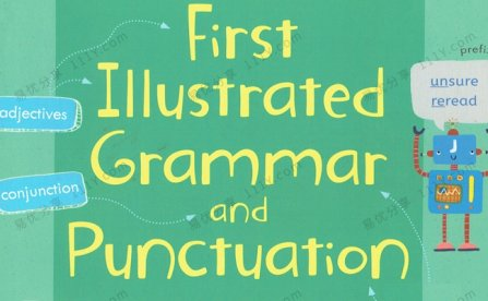 《Illustrated Grammar and punctuation》宝宝第一本图解语法书PDF 百度网盘下载
