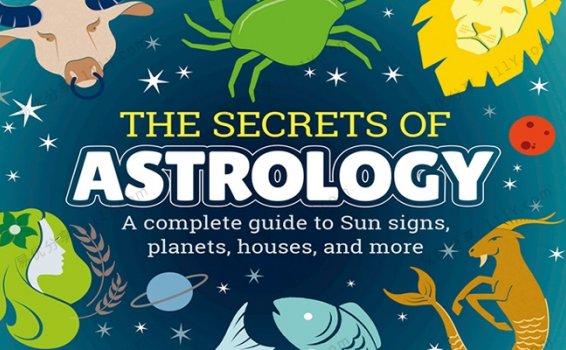 《The Secrets of Astrology》DK星座的秘密英文绘本PDF 百度网盘下载