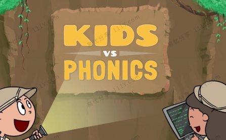 《Fun Phonics Made》元音辅音拼读英语启蒙动画课程 百度网盘下载
