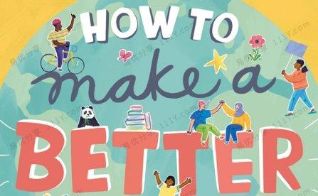 《How to Make a Better World》DK如何创造一个更美好的世界PDF 百度网盘下载