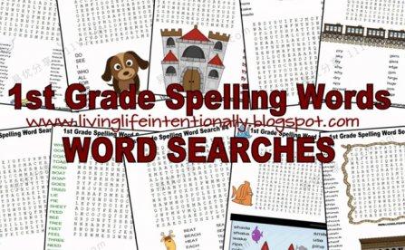 《卡通版寻找单词游戏作业纸》英语启蒙单词记忆练习PDF 百度网盘下载