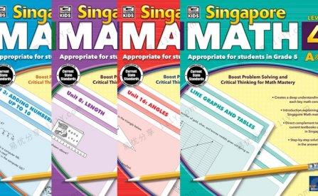 《Singapore Math》新加坡数学作业纸G1-G4英文练习册PDF 百度网盘下载