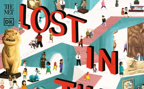 《Lost In The Museum》DK博物馆大冒险英文绘本PDF 百度网盘下载