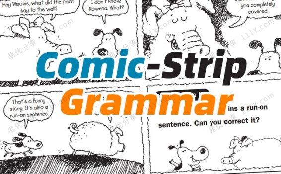 《Comic-Strip  Grammar》学乐趣味漫画语法英文练习册PDF 百度网盘下载