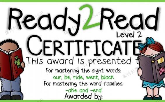 《Ready 2 Read Level 2》英语启蒙Unit1-10互动书PDF 百度网盘下载