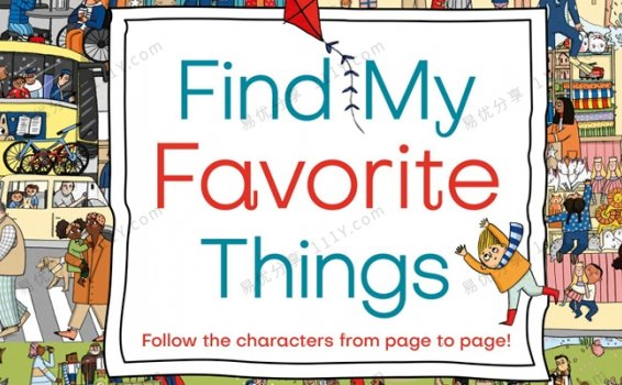 《Find My Favorite Things》DK找到我最喜欢的物品英文绘本PDF 百度网盘下载